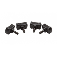 Винты для креплений O'Brien 4 Pack Thumbscrews (Long) Black (BLK), фото 1
